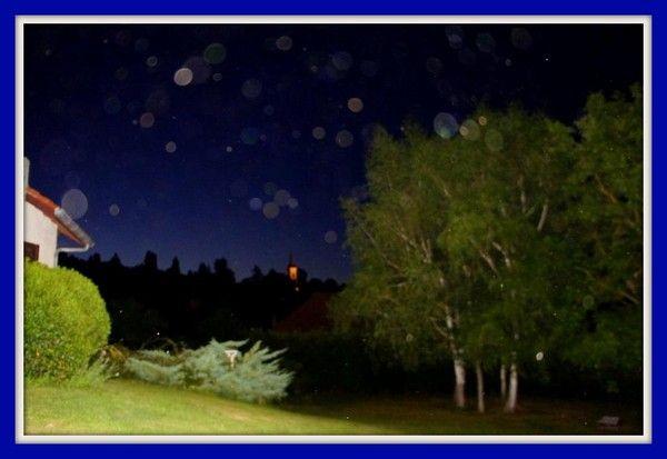 Nuit du 23 juillet 2012.