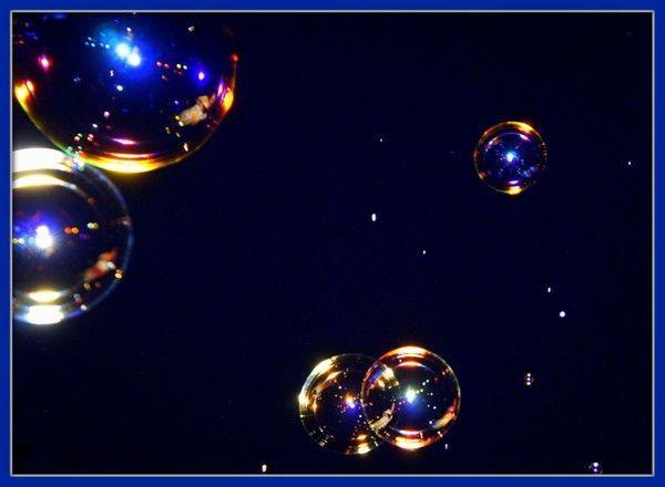 Les bulles de savon et les Orbs.